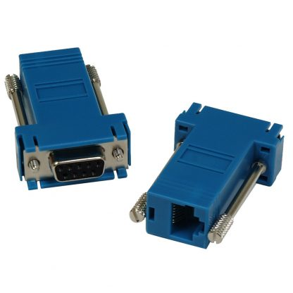 DB9 Female to RJ45 Modular Adapter (RS-232 Pinout) for SeaI/O Modules
