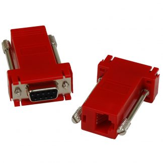 DB9 Female to RJ45 Modular Adapter (RS-422 Pinout) for SeaI/O Modules