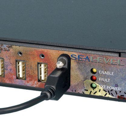 HUB7M w/ SeaLATCH Locking USB Ports
