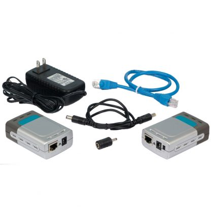 Power Over Ethernet (PoE) Kit with 5V/12V Switch