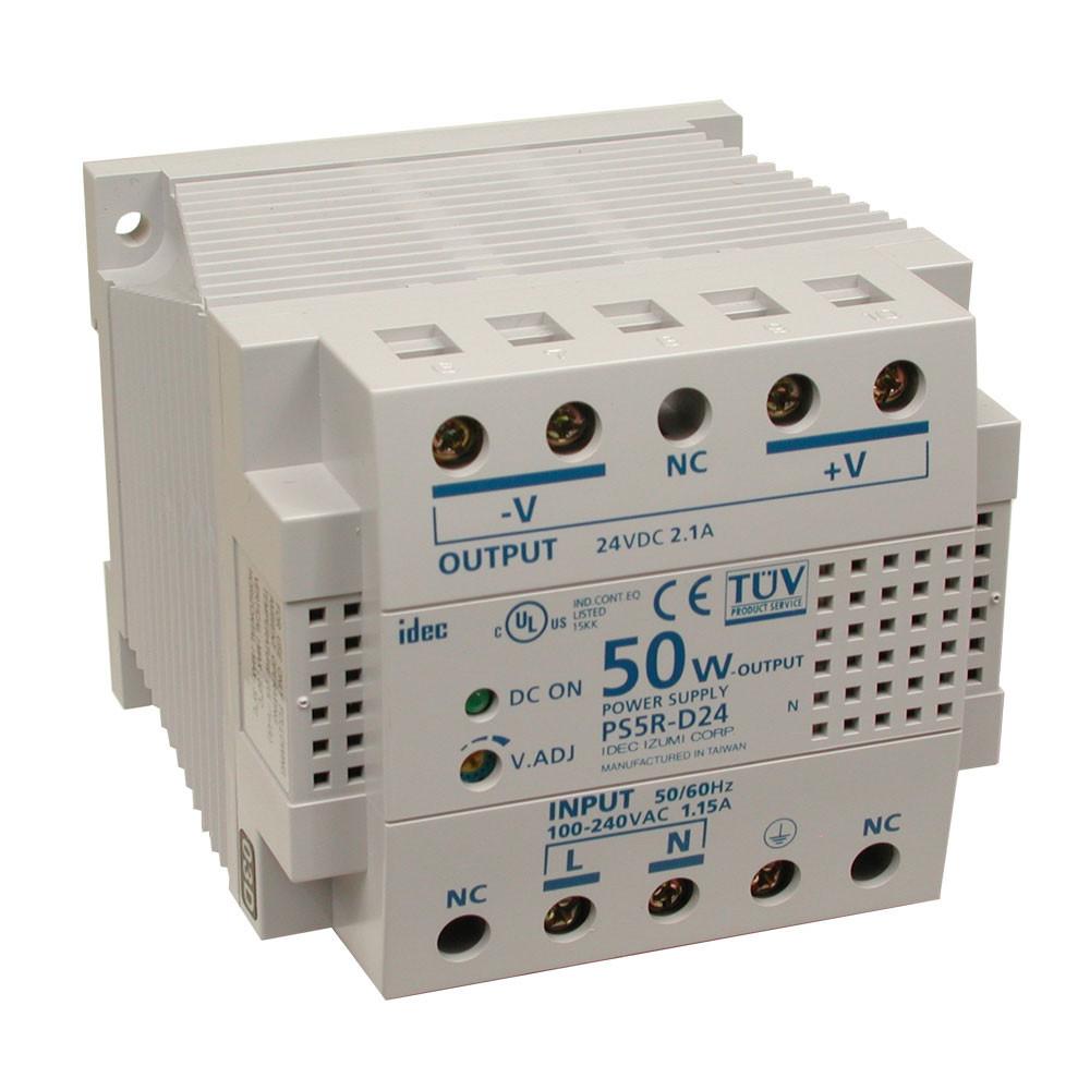 24 Vdc 50w Psu Sealevel 24v Dc Power Supply 100 240vac To 24vdc 21a Din Rail