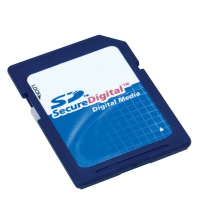 2GB Secure Digital (SD) Card Flash Memory