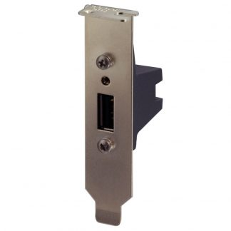 USB Low Profile PCI Bracket with SeaLATCH Type A Port