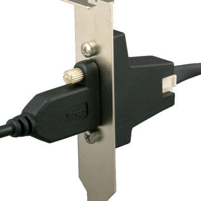 SL-PCI SeaLATCH Locking USB Port Application Example