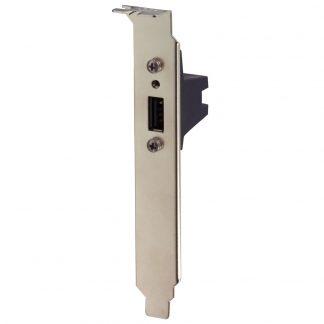 USB PCI Bracket with SeaLATCH Type A Port
