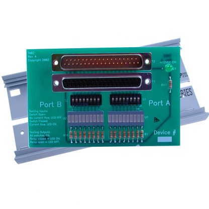 Relay and Isolated I/O Simulation Module - DB37 Connector