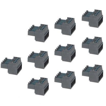 Terminal Blocks - 4 Position Screw Terminal (10 Pack)