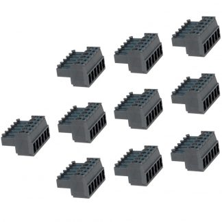 Terminal Blocks - 6 Position Screw Terminal (10 Pack)