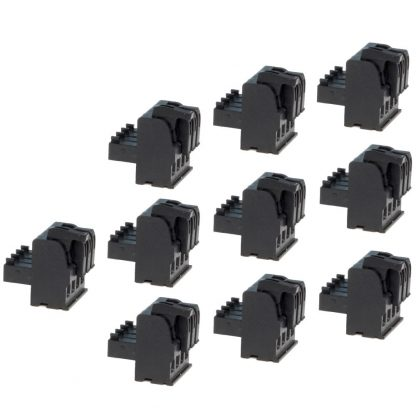 Terminal Blocks - 4 Position Spring Clamp (10 Pack)