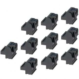 Terminal Blocks - 5 Position Spring Clamp (10 Pack)
