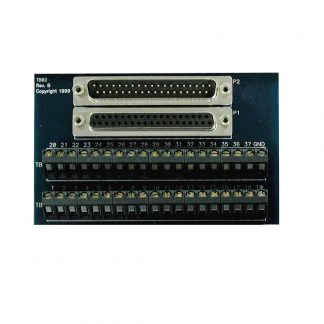 Terminal Block - DB37 Male and DB37 Female to 37 Screw Terminals