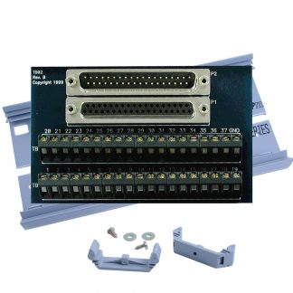Terminal Block Kit - DB37 Male and DB37 Female to 37 Screw Terminals