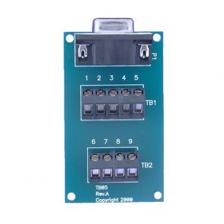 Terminal Block - DB9 Female to 9 Screw Terminals