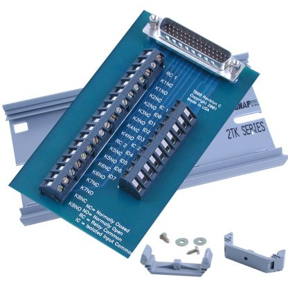 Terminal Block Kit - HD44 Male to 28 Screw Terminals - for 8011