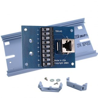 Terminal Block Kit - RJ45 to 9 Screw Terminals