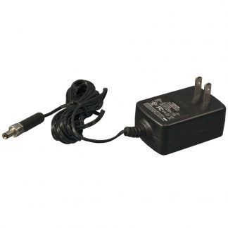 120VAC to 12VDC @ 1A, Wall Mount Power Supply w/ Locking Connector