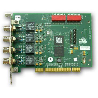 MIL-STD-1553 Two-Channel PCI Board