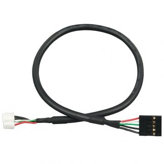 Internal USB Cable for 1x5 0.1 (2.54mm) Box Header Connectors, 14 inch Length