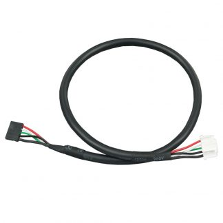 Internal USB Cable for 1x5 2mm Box Header Connectors, 14 inch Length