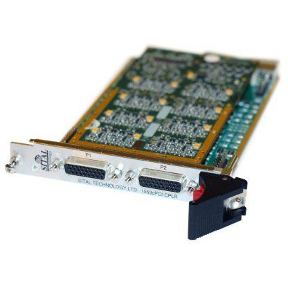 BRD1553cPCI-STD-8 Connectors