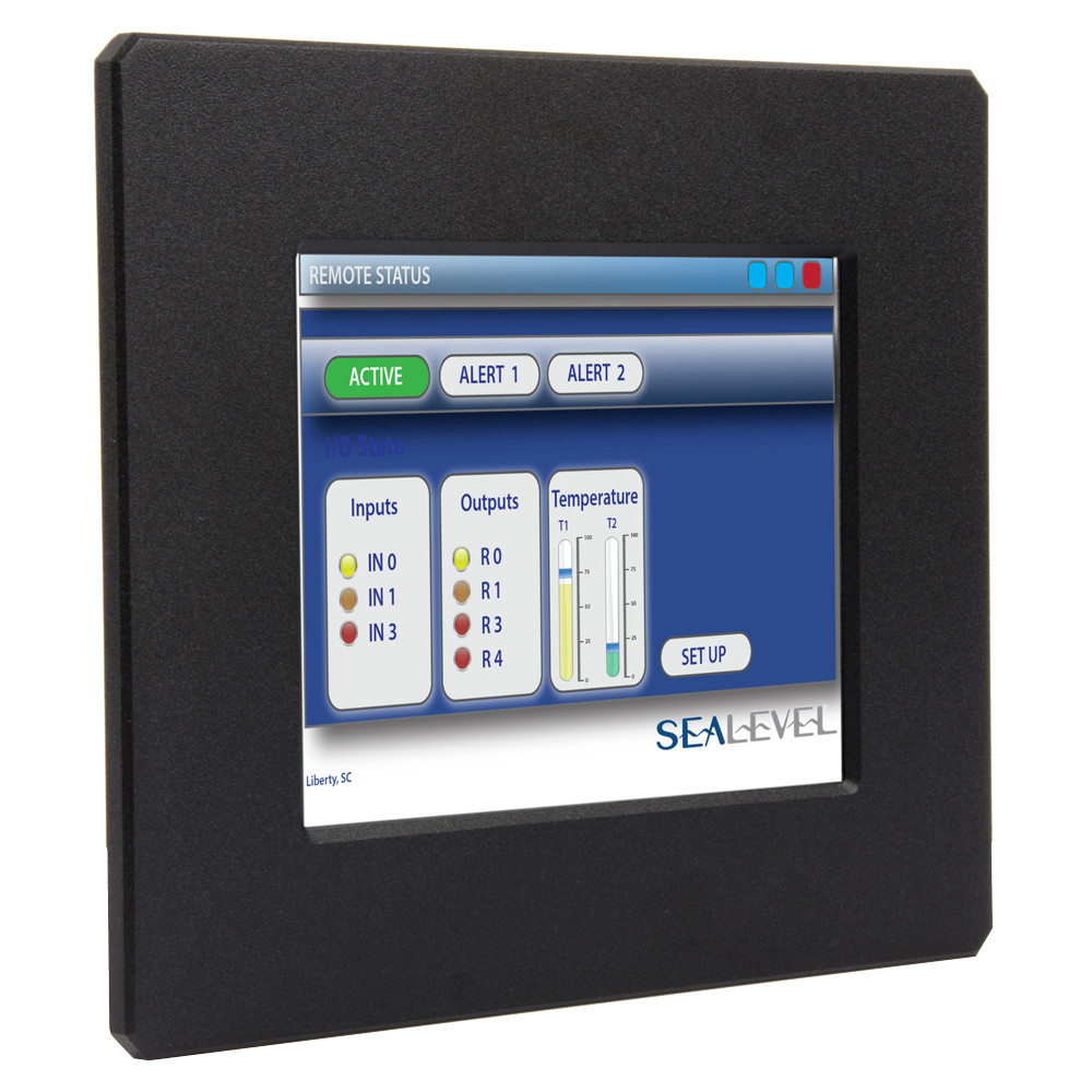"400 MHz ARM9 C1D2/ATEX Zone 2 Touchscreen Computer with 128MB SDRAM, 8.4"" TFT LCD"