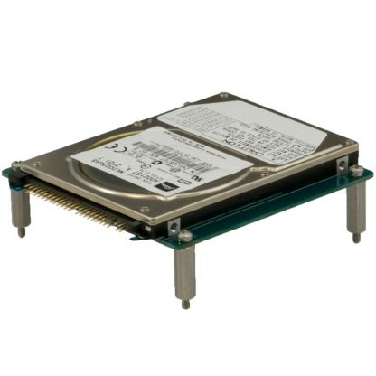 HD104 Application Example: Optional IDE hard drive mounted to board