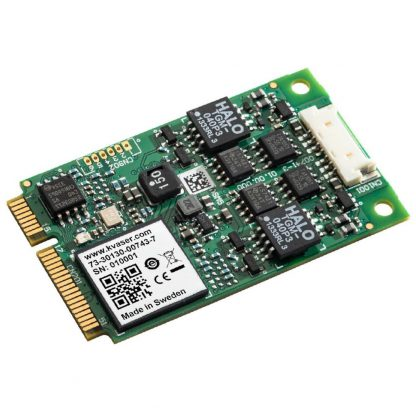 Kvaser Mini PCI Express 2xHS CAN Bus 2.0b Adapter