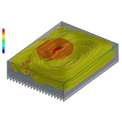 Relio R1 Internal Thermal Air Flow Modeling