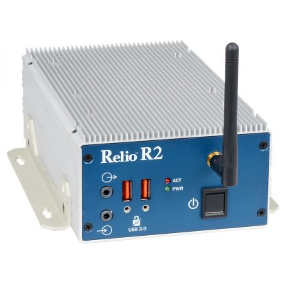 Relio R2 with Optional 802.11 a/g/n Dual-Band Mini-PCIe Wireless Network Adapter
