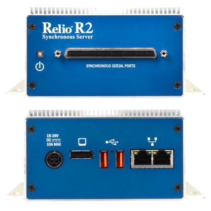 Relio R2 Sync Server (Front & Rear Detail)