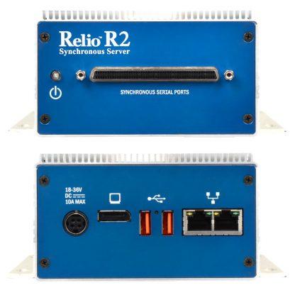 Relio R2 Sync Server (Front & Rear Detail)