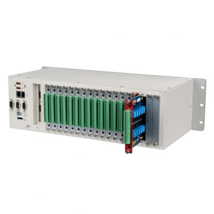 Application Example: Relio R3 3U Industrial Computer with 18 SeaRAQ I/O Expansion Modules