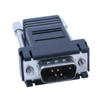 DB9 Male to RJ45 - Preconfigured for RS-232 RJ45 Serial Devices