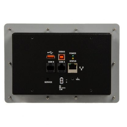 S96100-7R Rear View w/ Connectors Detail