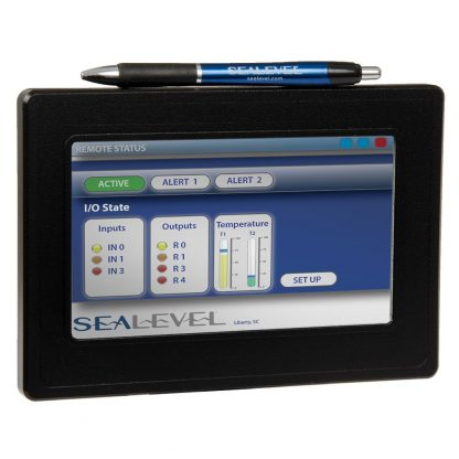 "S96100-7R 400 MHz ARM9 NEMA4/UL Touchscreen Computer with 128MB SDRAM, 7"" TFT LCD"