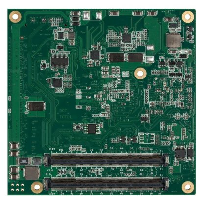 TCA/N2800 COM Express Module Rear View