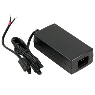 100-240 VAC to 24 VDC @ 2.7 A, Desktop Power Supply w/ Tinned Leads (Choose Power Cord)